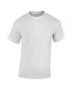 white t-shirt for next day printing
